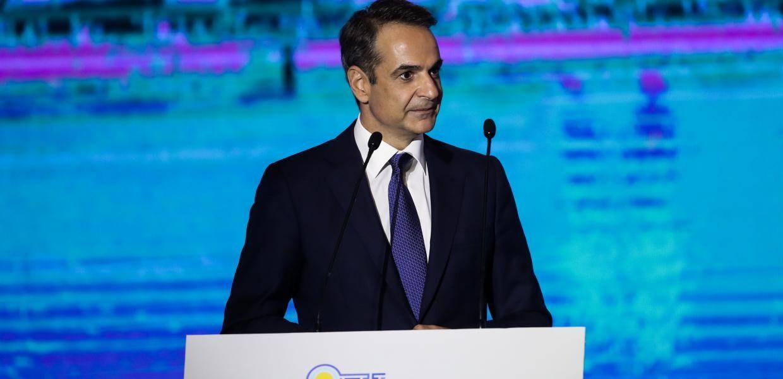 Πανηγυρίζοντας και αυτοθαυμαζόμενος για την «ανάπτυξη» της οικονομίας μετά το lockdown,  ο Μητσοτάκης στη ΔΕΘ